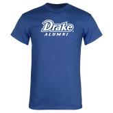 Royal T Shirt-Drake Alumni