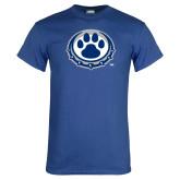Royal T Shirt-Paw Print Logo