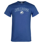 Royal T Shirt-Bulldogs