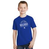 Youth Royal T Shirt-Bulldogs Volleyball
