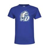 Youth Royal T Shirt-D Dog