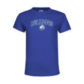 Youth Royal T Shirt-Bulldogs