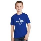 Youth Royal T Shirt-Bulldogs Basketball Net