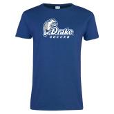 Ladies Royal T Shirt-Drake Soccer