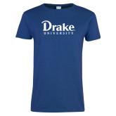 Ladies Royal T Shirt-Drake University