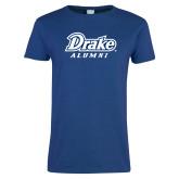 Ladies Royal T Shirt-Drake Alumni