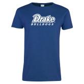 Ladies Royal T Shirt-Athletic Wordmark
