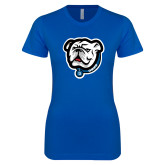 Next Level Ladies SoftStyle Junior Fitted Royal Tee-Griff