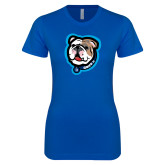 Next Level Ladies SoftStyle Junior Fitted Royal Tee-Griff II