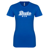 Next Level Ladies SoftStyle Junior Fitted Royal Tee-Drake Mom