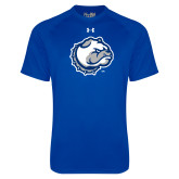 Under Armour Royal Tech Tee-Bulldog Head