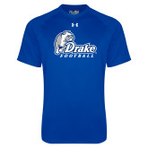 Under Armour Royal Tech Tee-Drake Football