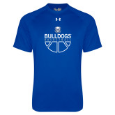 Under Armour Royal Tech Tee-Bulldogs Basketball