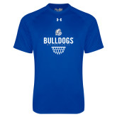 Under Armour Royal Tech Tee-Bulldogs Basketball Net