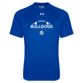 Under Armour Royal Tech Tee-Bulldogs Football