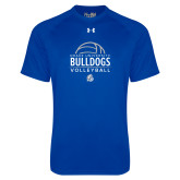 Under Armour Royal Tech Tee-Bulldogs Volleyball