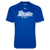 Under Armour Royal Tech Tee-Drake Dad