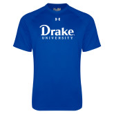 Under Armour Royal Tech Tee-Drake University