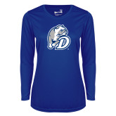 Ladies Syntrel Performance Royal Longsleeve Shirt-D Dog