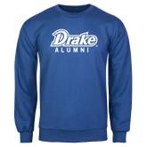 Royal Fleece Crew-Drake Alumni