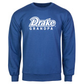 Royal Fleece Crew-Drake Grandpa
