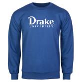 Royal Fleece Crew-Drake University