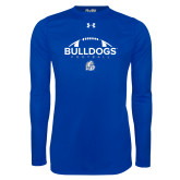 Under Armour Royal Long Sleeve Tech Tee-Bulldogs Football