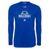 Under Armour Royal Long Sleeve Tech Tee-Bulldogs Soccer