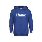 Youth Royal Fleece Hoodie-Drake University