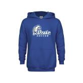 Youth Royal Fleece Hoodie-Drake Soccer