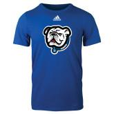 Adidas Royal Logo T Shirt-Griff
