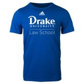 Adidas Royal Logo T Shirt-Law School