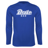 Performance Royal Longsleeve Shirt-Drake Dad