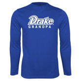 Performance Royal Longsleeve Shirt-Drake Grandpa