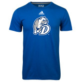 Adidas Climalite Royal Ultimate Performance Tee-D Dog