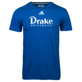 Adidas Climalite Royal Ultimate Performance Tee-Drake University