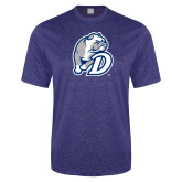 Performance Royal Heather Contender Tee-D Dog