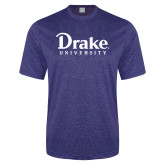 Performance Royal Heather Contender Tee-Drake University