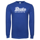 Royal Long Sleeve T Shirt-Drake Grandpa