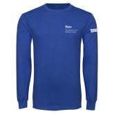 Royal Long Sleeve T Shirt-Robert and Billy Center
