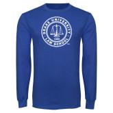 Royal Long Sleeve T Shirt-Law School