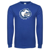 Royal Long Sleeve T Shirt-Bulldog Head