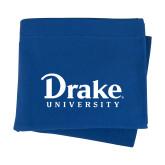 Royal Sweatshirt Blanket-Drake University