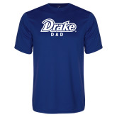 Performance Royal Tee-Drake Dad