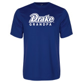 Performance Royal Tee-Drake Grandpa