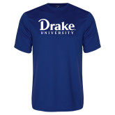 Performance Royal Tee-Drake University