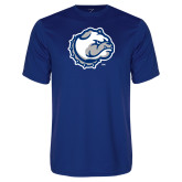 Performance Royal Tee-Bulldog Head