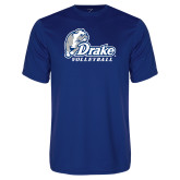Performance Royal Tee-Drake Volleyball