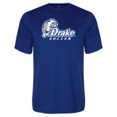 Performance Royal Tee-Drake Soccer