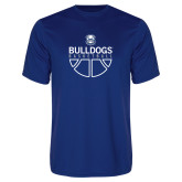 Performance Royal Tee-Bulldogs Basketball